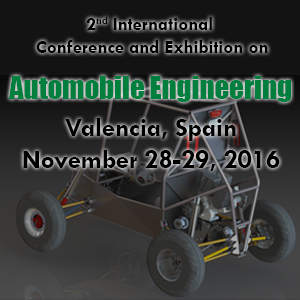 International Conference and Exhibition on Automobile Engineering (Automobile 2016) during November 28-29, 2016 at Valencia Spain