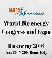 World Bioenergy Congress and Expo, 2016 June 13-15, in Rome, Italy