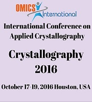 International Conference on Applied Crystallography during 2016 October 17-19, Houston, USA