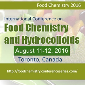 Food Chemistry 2016 during August 11-12, 2016 at Toronto, Canada