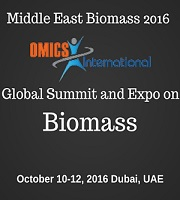 Global Summit & Expo on Biomass- Middle east Biomass during 2016 October 10-12 in Dubai, UAE