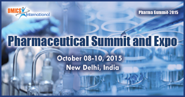 Pharmaceutical Summit and Expo, October 08-10 2015, New Delhi India